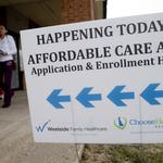 734,000 Texans bought health insurance through the federal marketplace