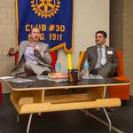 Laham, <strong>Ramsey</strong>, Oborny share projects at Rotary