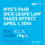 Details, information for business coming on paid sick leave