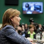 Let's take a <strong>peek</strong> at Mary Barra's 2015 to-do list at General Motors