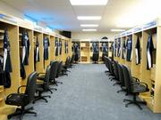 The Adams Group did the locker facilities for the Tampa Bay Rays.