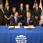 Port execs seal the deal for increased business opportunities
