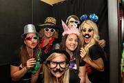 Argus' photo booth was complete with props.