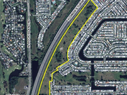A sliver of land along Florida's Turnpike in Tamarac could hold 164 townhouses and 61 single-family homes.