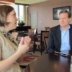 DBJ readers have lunch with Rep. Mike Turner