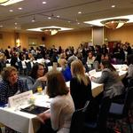 215 professional women, 30 students talk business at Mentoring Monday (Video)