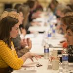 Women share ideas at Mentoring Monday event