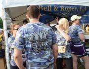 The team from Bell & Roper PA, named B&R Team 6, was inspired by the Navy Seals.