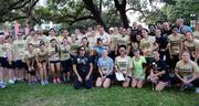 Team UCF had its largest Corporate 5k team with 110 members. Not all of them showed up for the photo, but I'm not offended.