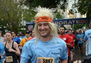 You'd think wigs and long, hot runs wouldn't go together. You'd be wrong.
