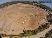 Another view of the Apple Campus 2 demolition site.