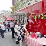 Food truck operators discuss regulations with city officials