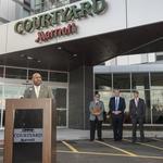 Philadelphia Navy Yard unveils its first hotel