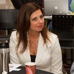 Sharing success: Rachel Janes at Mentoring Monday