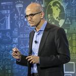 Microsoft's Nadella will face the analysts on Tuesday