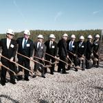 Breaking ground: Tupperware digs into new shopping center project