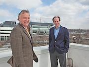 Buffalo Niagara Medical campus executives Patrick Whalen, left, and Matthew Enstice.