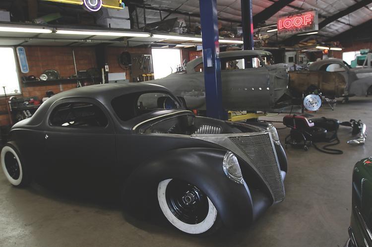 Inside Jesse James Austin Speed Shop Austin Business