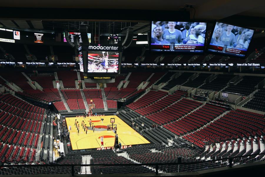 Portland Trail Blazers Remodeled Suites 2017 View