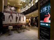 Interior of McDonald's in Beijing