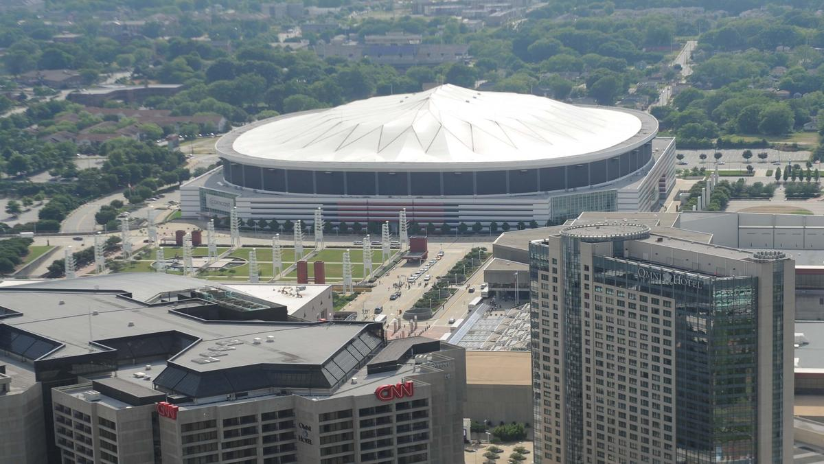 Hotel close to georgia dome in atlanta 2018 world 39 s best for Mercedes benz stadium atlanta hotels