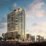 Future office construction inspires new downtown multifamily project