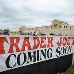 Construction update: Because you can't get enough <strong>Trader</strong> <strong>Joe</strong>'s