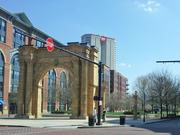 Diners on Nada's patio will look out into McFerson Commons and the Union Station arch.