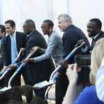 Cordish, KC leaders break ground on One Light tower