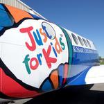 Let's look at Kosair Children's Hospital's upgraded transport plane