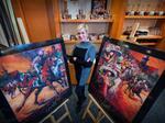 Clare Jett brings visual interpretation to the Kentucky Derby