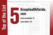 Grouphealthflorida.com is No. 5 on the list.