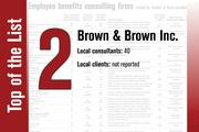 Brown & Brown Inc. is No. 2 on the list.