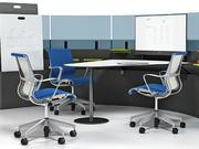 Manufacturers are trying to make office chairs lighter and more flexible — but still ergonomically correct.