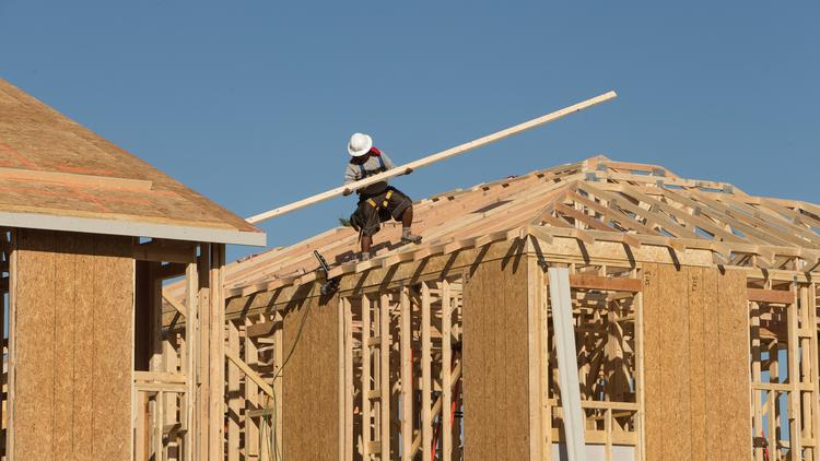 Home building is slowing across the U.S., but it's not hitting the Valley just yet.
