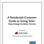 NC center calculates costs, savings for Duke Energy customers that go solar
