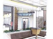 An artist rendering of renovations to the Mall at Rockingham Park.