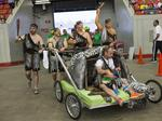 Derby Festival bed races teams have wild time