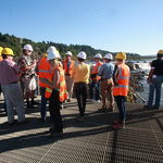 Hoping to get up close to Willamette Falls? You'll be waiting for a while