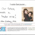 Sullivan & Worcester launches 'I Vote Because...' campaign (Slideshow)