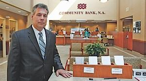 Retirement ahead for Community Bank's local executive
