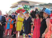 A recent fashion event held at Turf Paradise.
