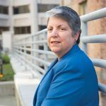 Former Arizona governor <strong>Janet</strong> <strong>Napolitano</strong> fighting cancer, hospitalized