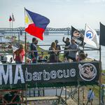 A swine place to be every May on the river in Memphis