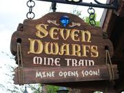This Seven Dwarfs Mine Train begins rolling on May 28.