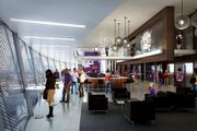 The VIP suite at the proposed Sacramento Kings arena would offer a view.