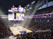 Inside, the arena would have a double deck of luxury suites and, apparently, natural lighting. Most Sacramento Kings games are played at night would unlikely be affected by sunlight.
