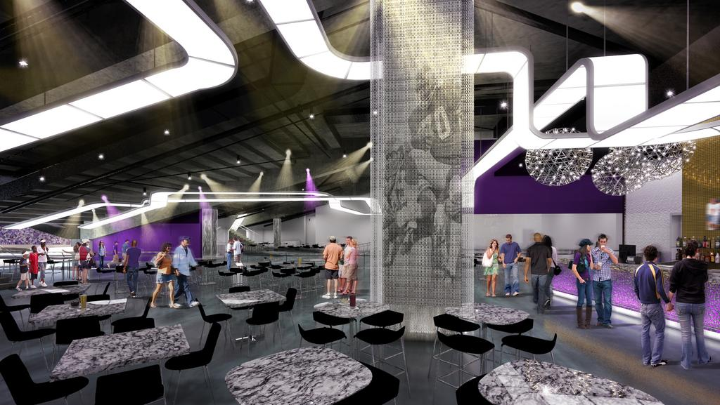 Delta Sky Club Will Offer Upclose Views Of Vikings At US - Us bank stadium suite map