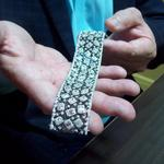 Diamonds Direct president shows off bling (Video)