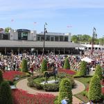 Track patrons enjoy Kentucky Derby Day